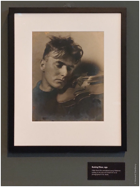 Busking Miner, 1930