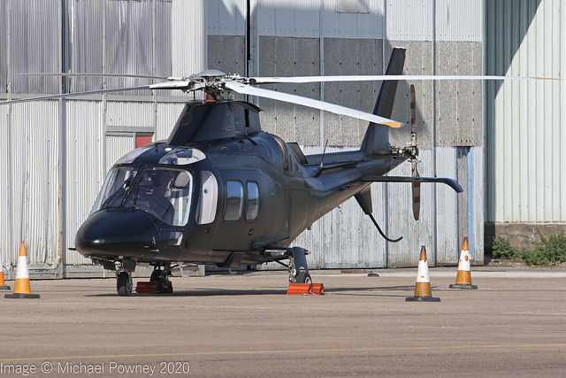 N449C - 2008 build Agusta A109S Grand, visiting East Midlands