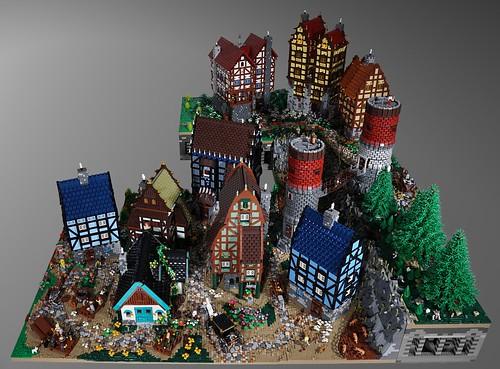 Medieval Village Full Layout