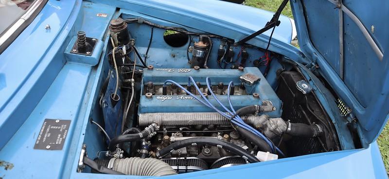 Alfa Romeo Giulietta Sprint / tipo 750B intermédiaire 1959 / Fifou T. -  50497894558_e7242df147_c