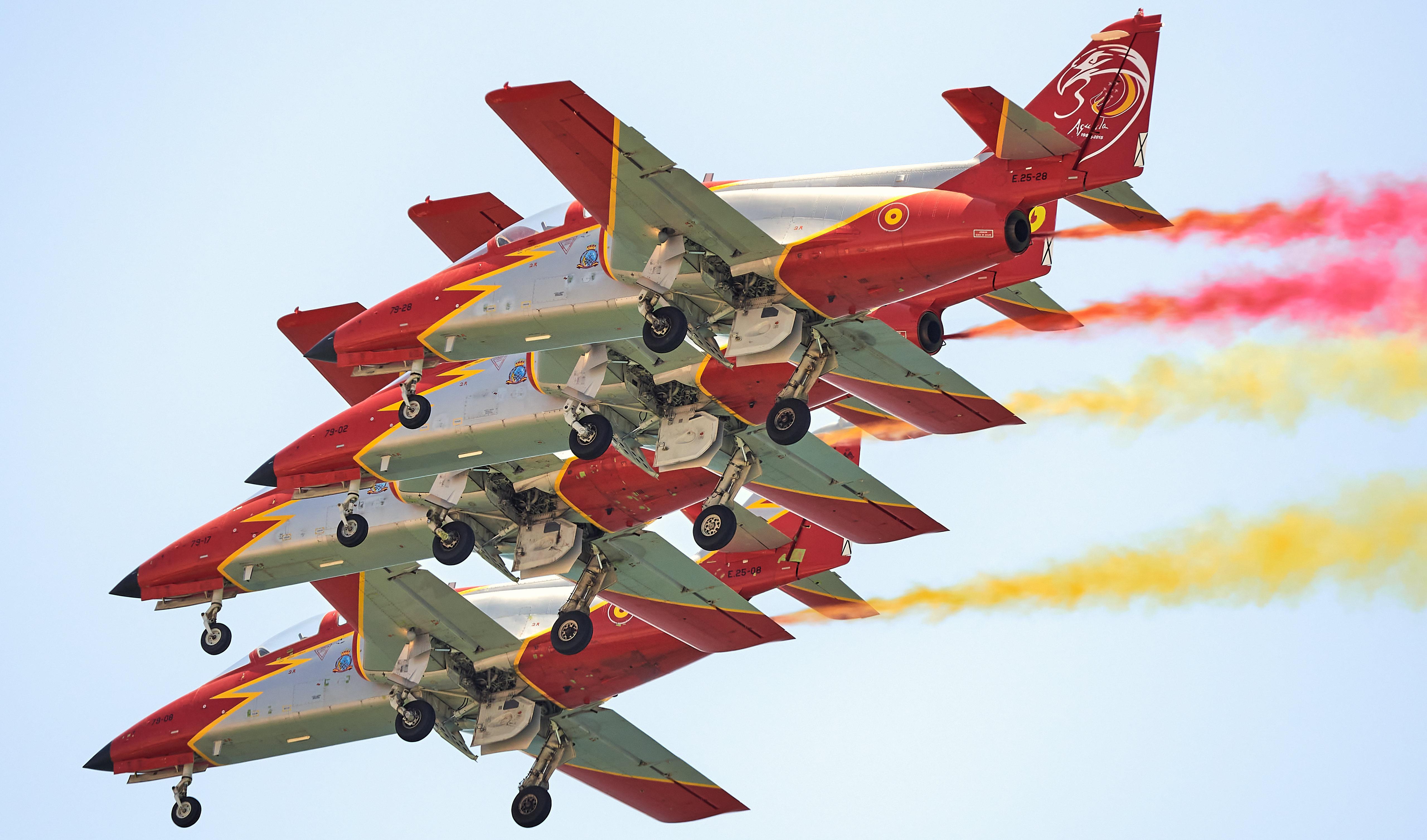 Los C-101 de la Patrulla Águila
