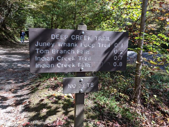 Deep Creek Trail to 3 waterfalls