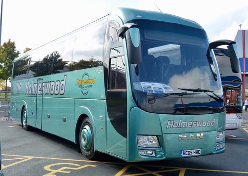 HC65 HWC 'Holmeswood Coaches Group' MAN 19.360 / Barbi on Dennis Basford's railsroadsrunways.blogspot.co.uk'