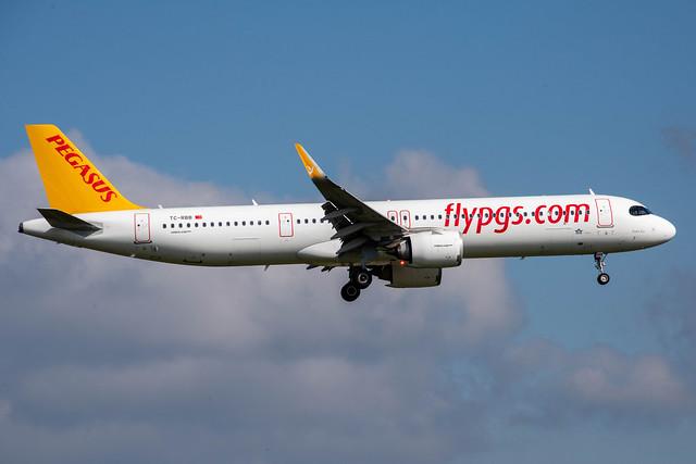 Pegasus Airlines Airbus A321-251NX; TC-RBB@ZRH;14.10.2020