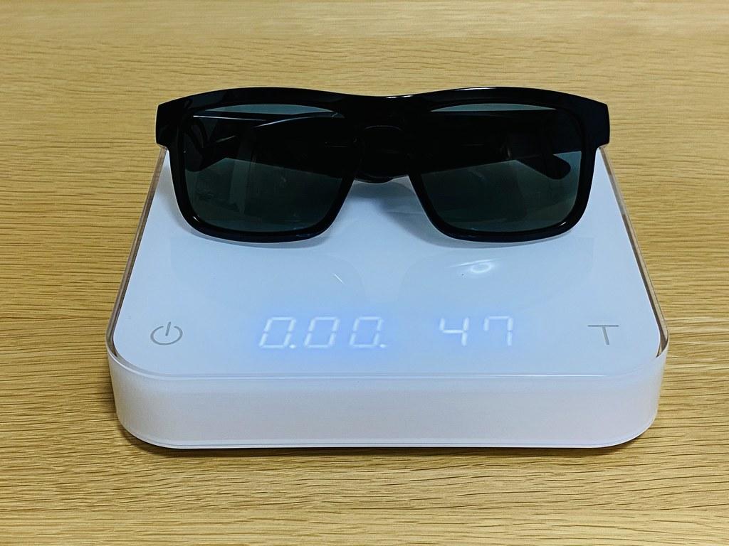 Weight of Bose Frames Tenor