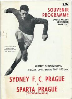 Sydney Prague v Sparta Prague 1967