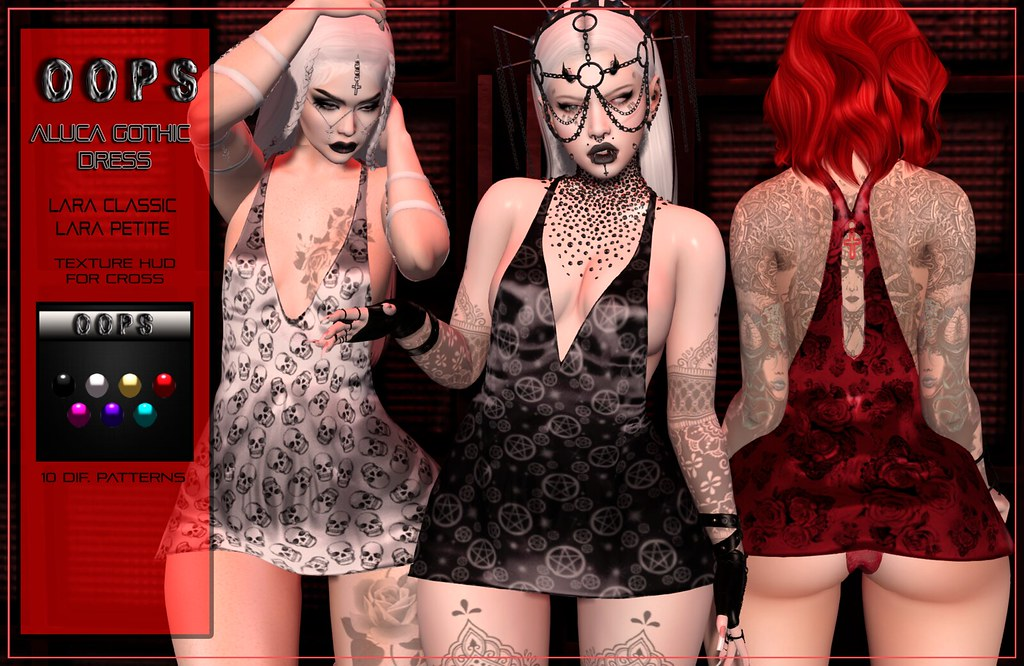 ::OOPS:: Aluca Dress – Halloween Edition