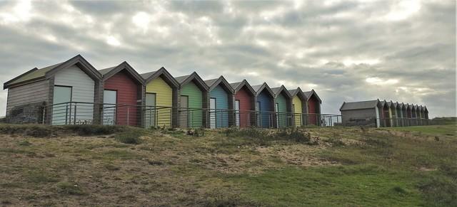 Blyth Beach Huts - Two Banks of Ten