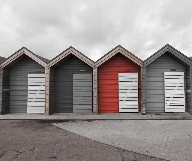 Blyth Beach Huts - RED