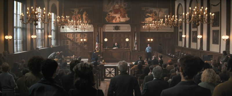 The tribunal room interiors
