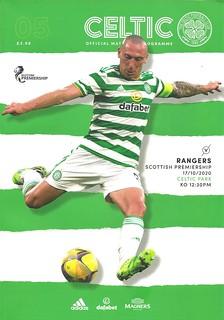 Celtic v Rangers 20201017