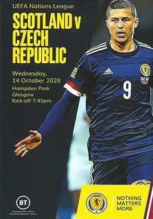 Scotland v Czech Republic 20201014