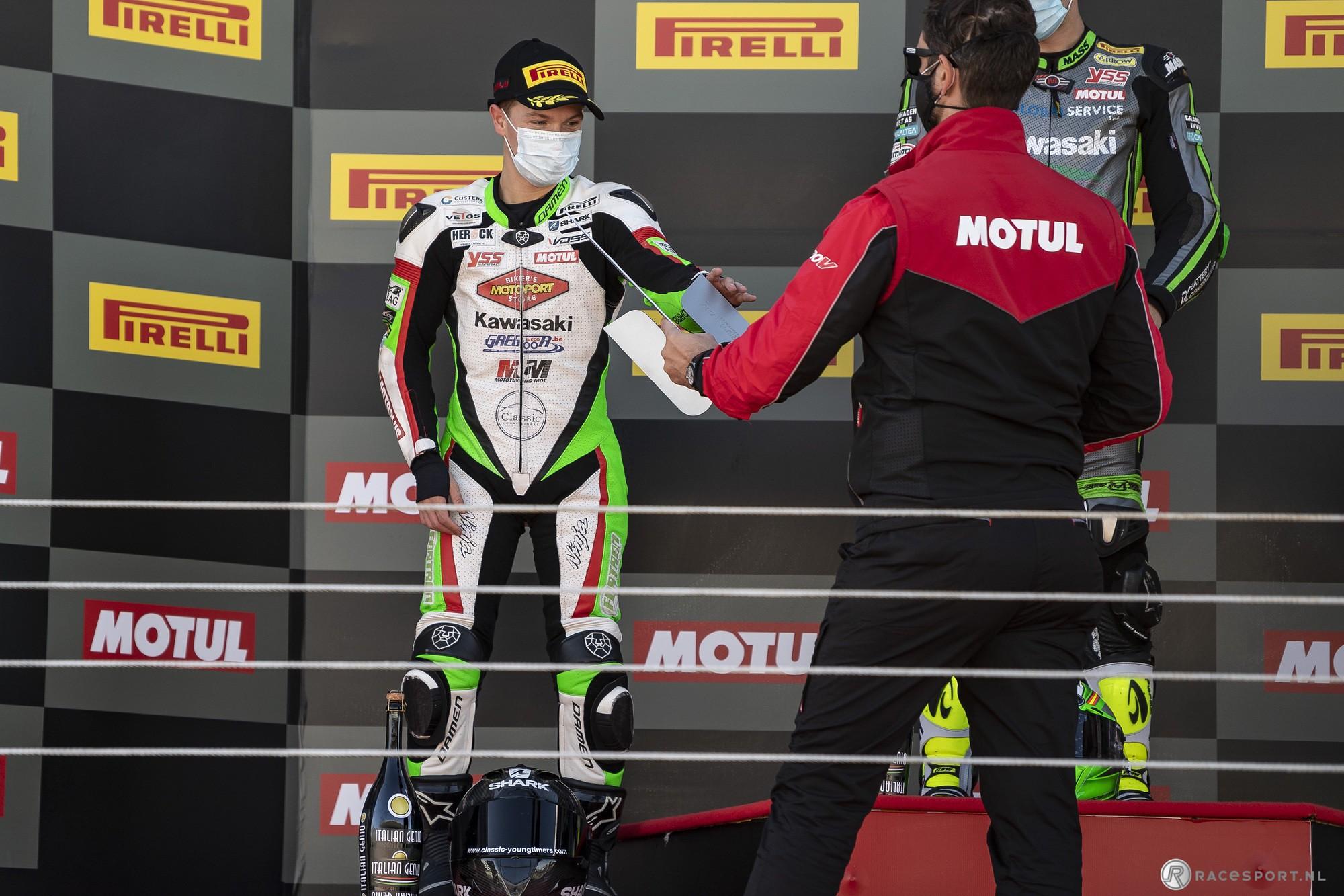 Jeffrey Buis 2020 FIM Supersport 300 wereldkampioen