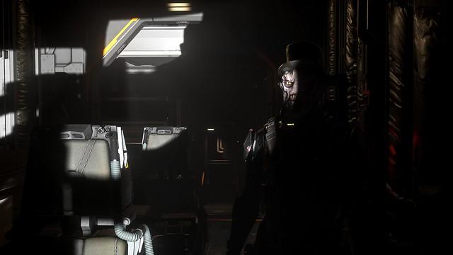 Noble Vanduul lurking in the dark