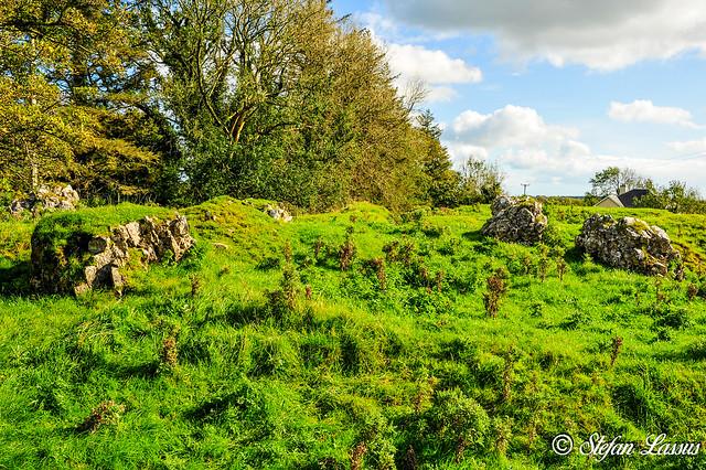 Galway, Clooncurreen Castle ruin