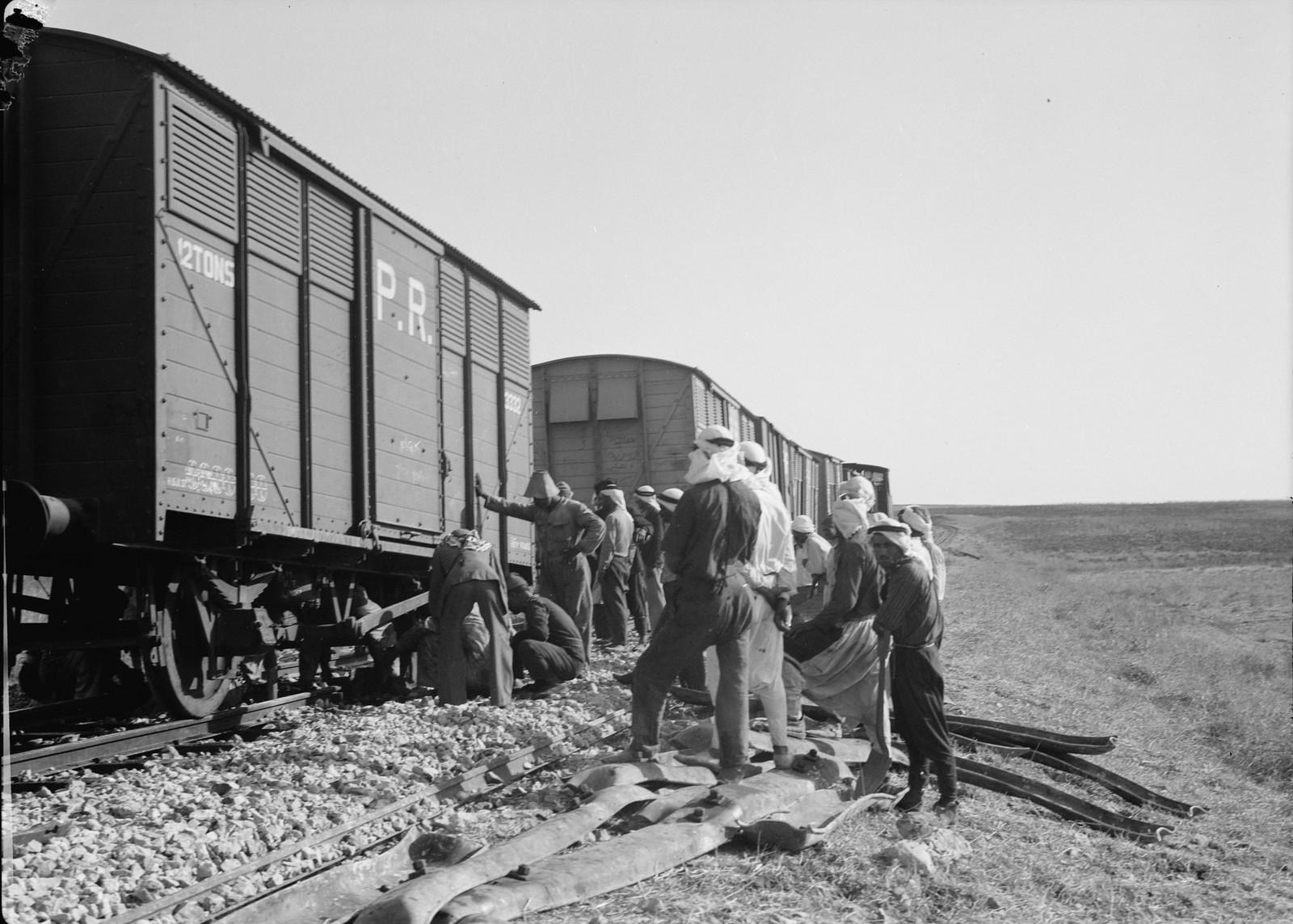 13. Ремонт на железнодорожной линии Лод-Иерусалим, 5 сентября