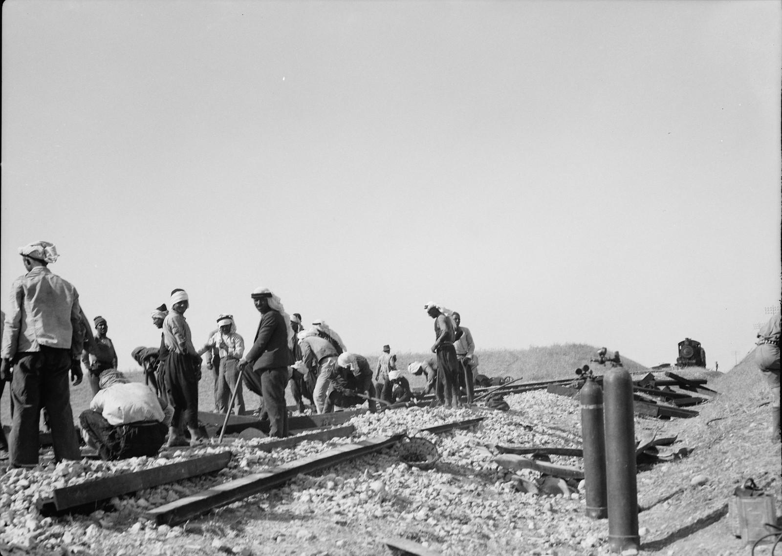 08. Ремонт на железнодорожной линии Лод-Иерусалим, 5 сентября
