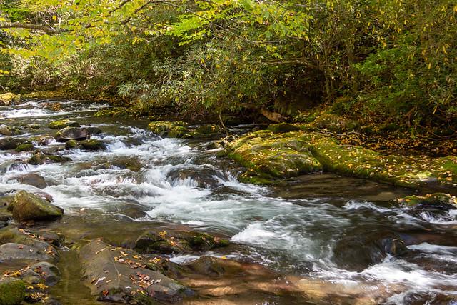 cascades near MP 26 on Hwy 441