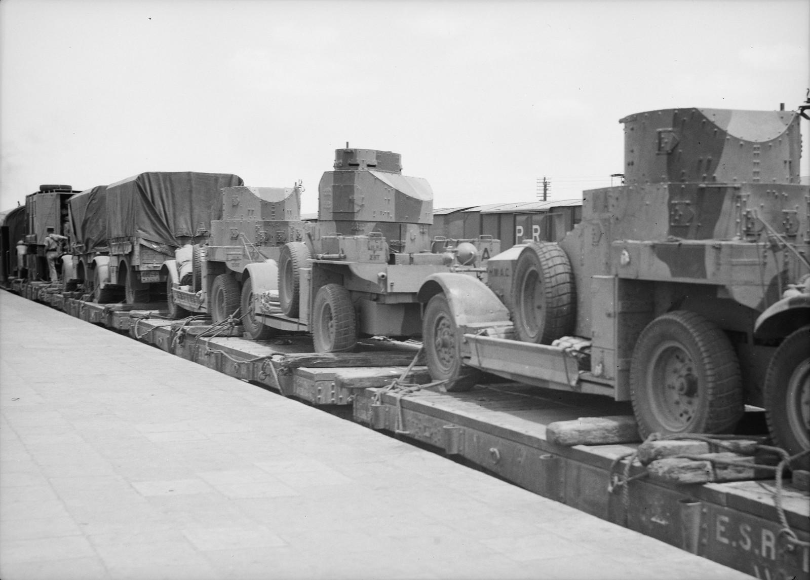 06. Британские войска прибыли в Лод, 15 июля