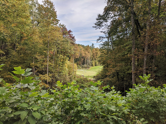 Lake Toxaway golf course