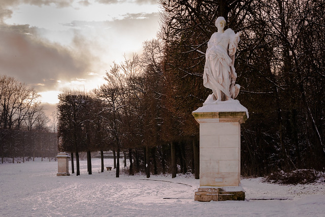 Statue parc de Sceaux