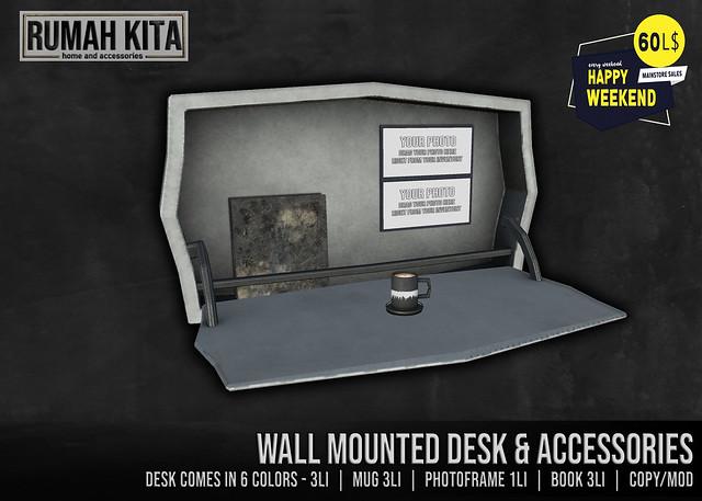 Rumah Kita - Wall Mounted Desk