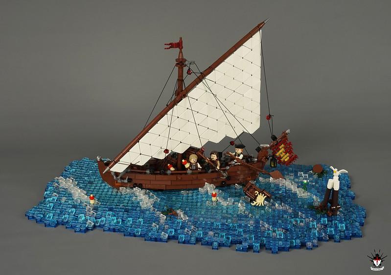 Venice 1486 - Fishing Sailship (main)