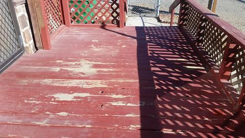 Peeling Porch Paint