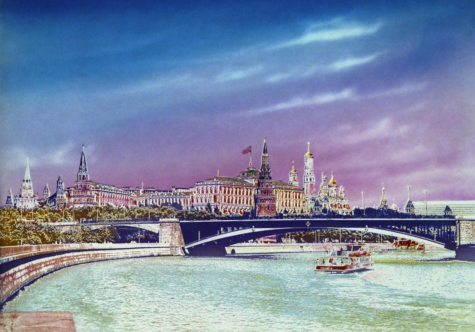 1975-1977. Большой Каменный мост.
