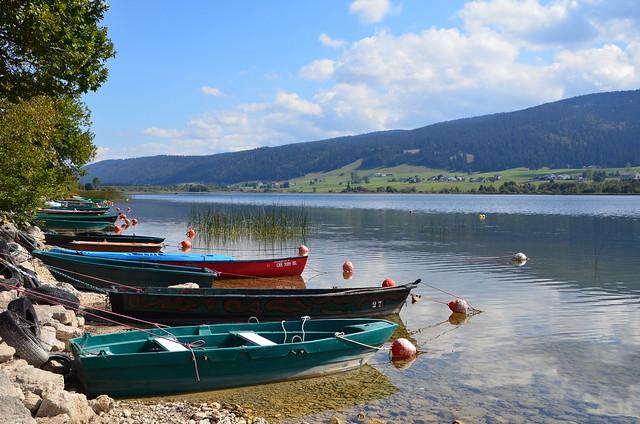 Lac des Rousses (Alt : 1075m)