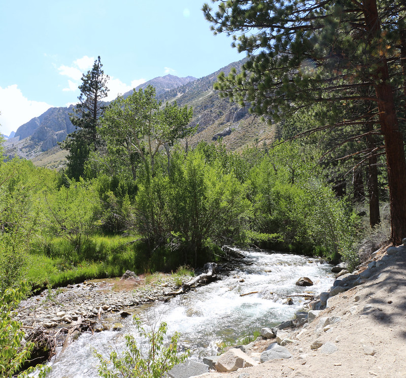 Big Pine Creek below the North Fork - South Fork junction near the campground