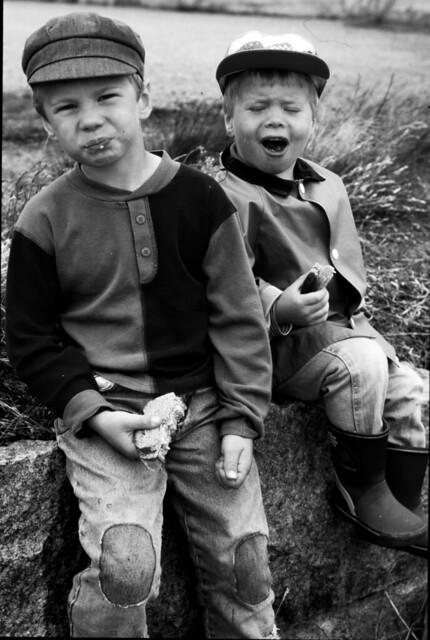 Melker och Helge, Tjurkö kring 2000