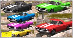 """Killer's"" Kamino Cuddle Car On Discount @ TresChic"