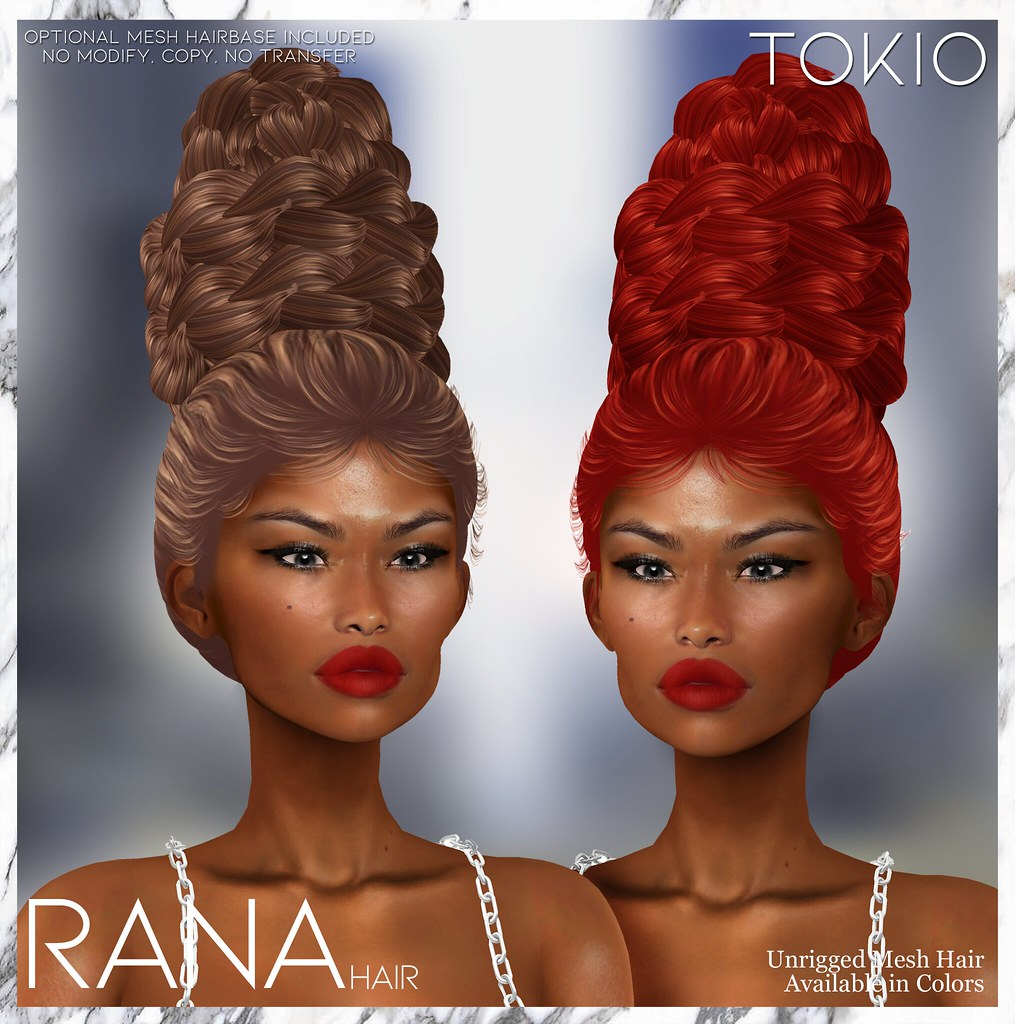 TOKIO Hair – RANA – Happy Weekend L$60 @Mainstore!!