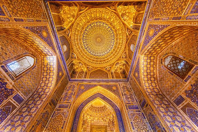 Mosquée dorée\Ouzbékistan