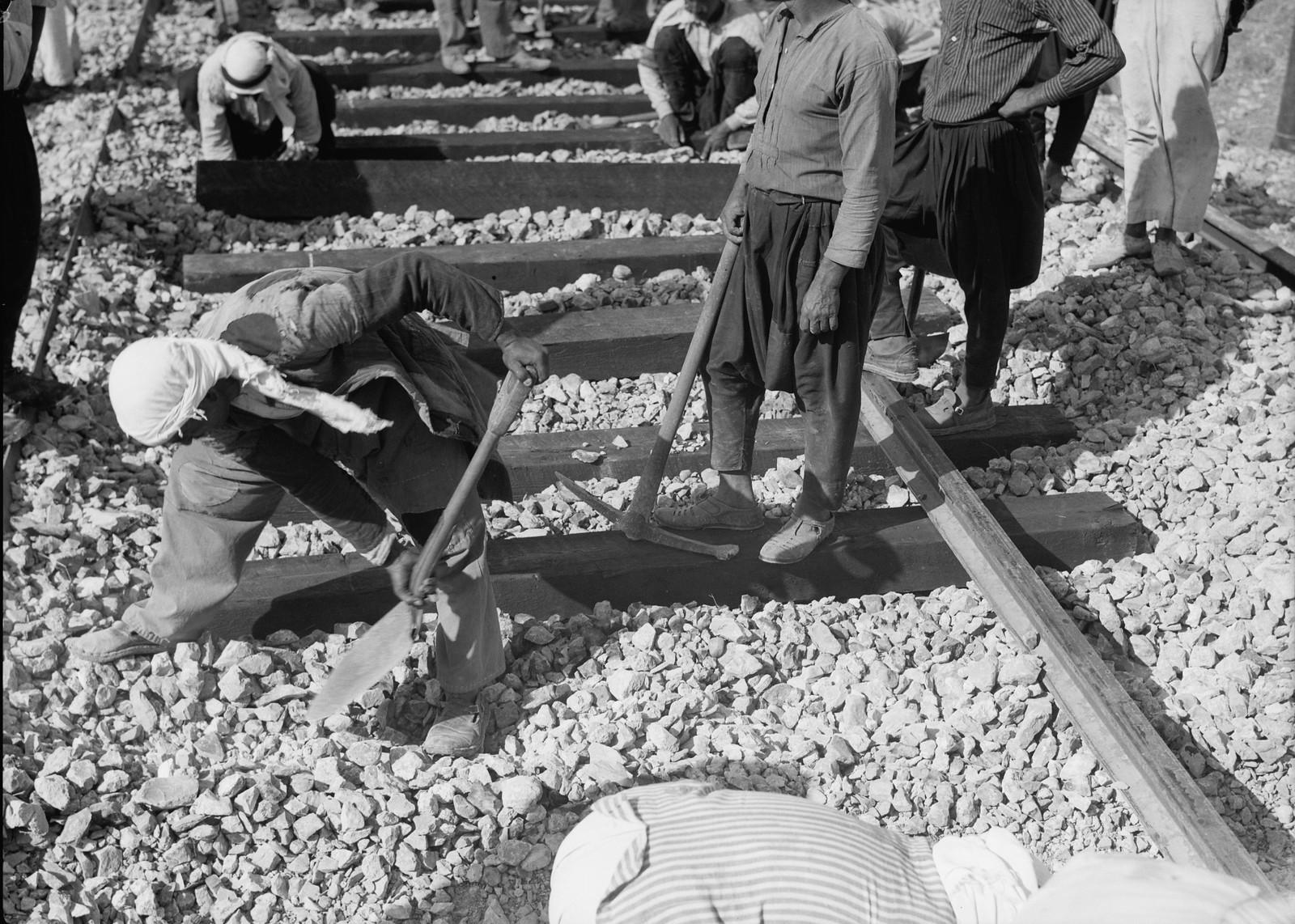 14. Ремонт на железнодорожной линии Лод-Иерусалим, 5 сентября