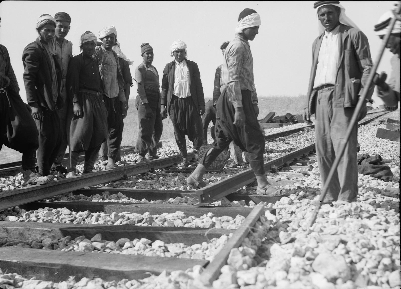10. Ремонт на железнодорожной линии Лод-Иерусалим, 5 сентября