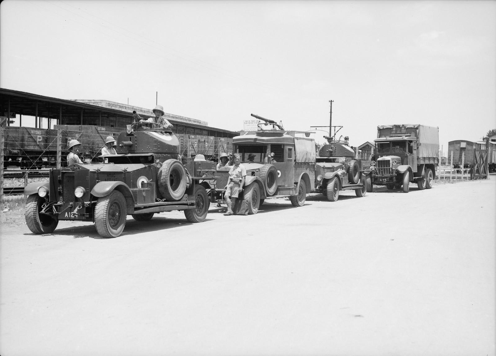 07. Британские войска прибыли в Лод, 15 июля