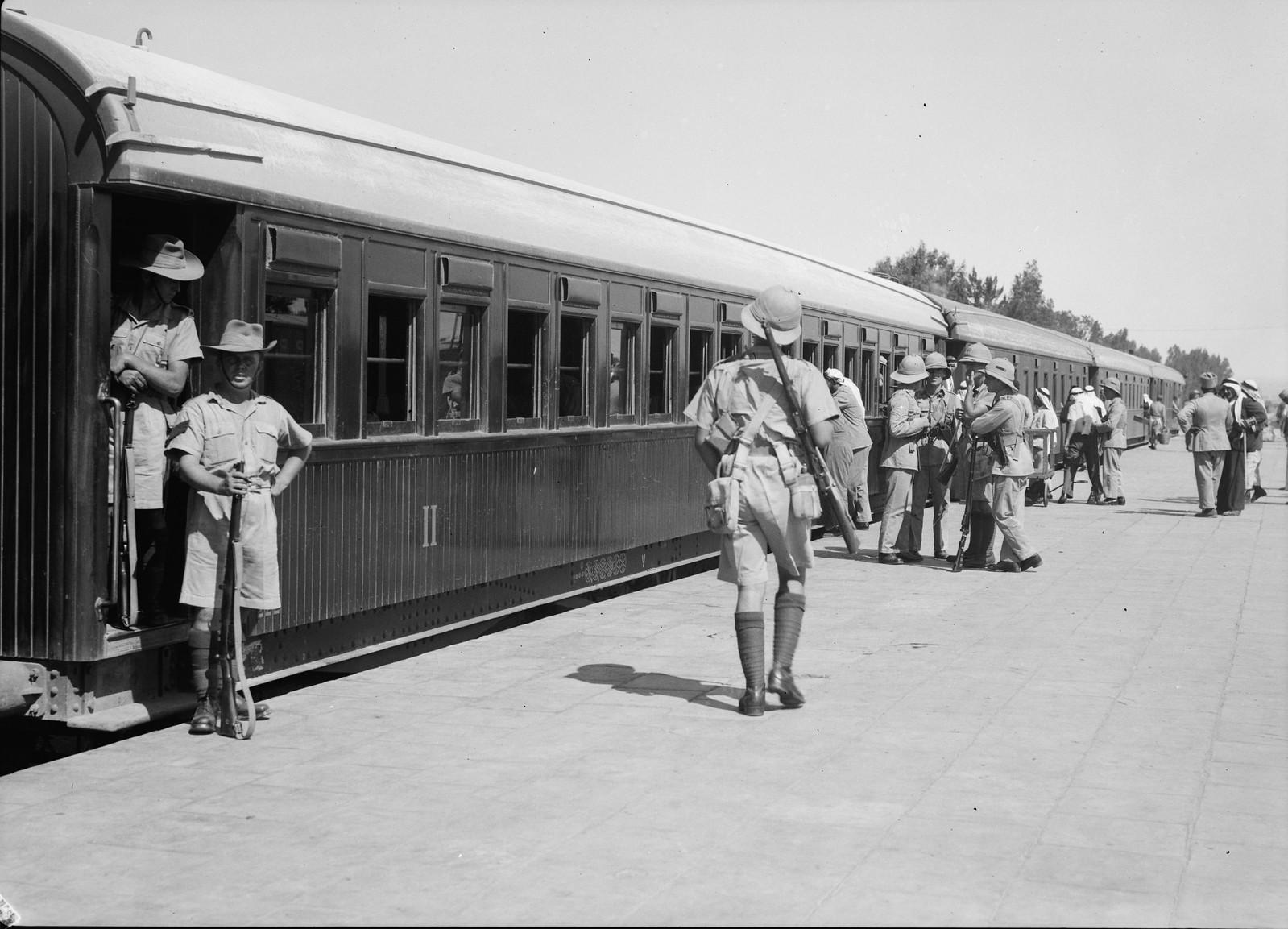 05. Британские войска прибыли в Лод, 15 июля