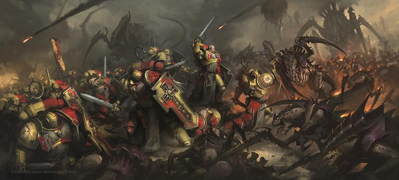 Howling Griffons Bladeguard Veterans, Space Marines Codex artwork