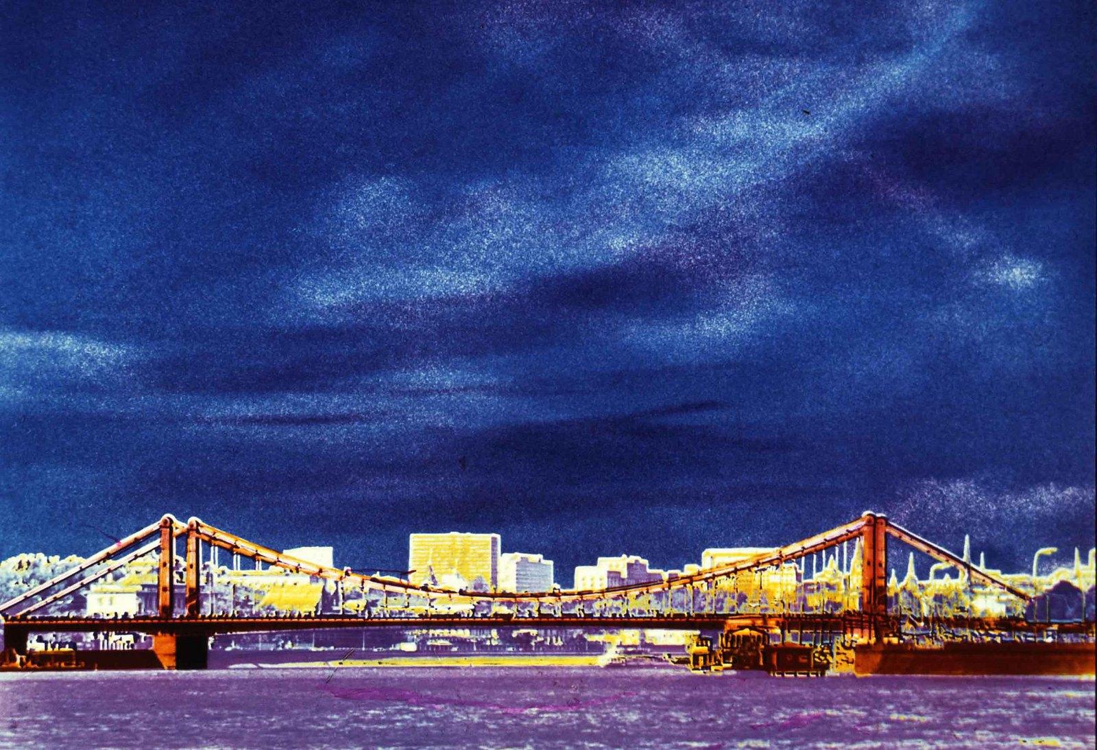 1975-1977. Бородинский мост