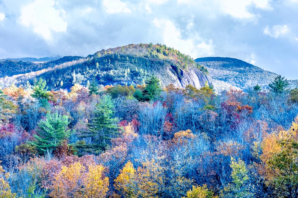 Big Green Mountain from Salt Rock
