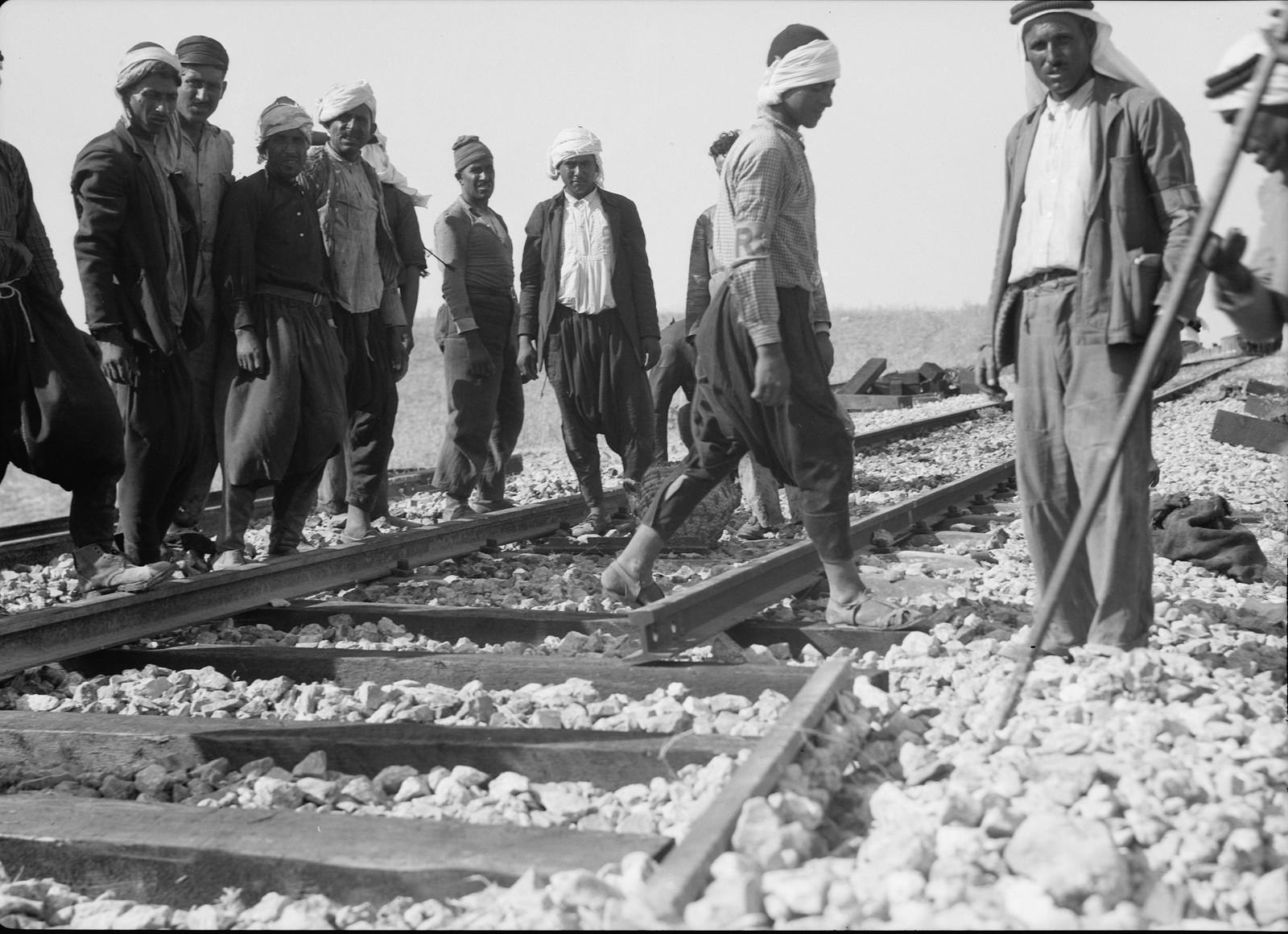 11. Ремонт на железнодорожной линии Лод-Иерусалим, 5 сентября (3)