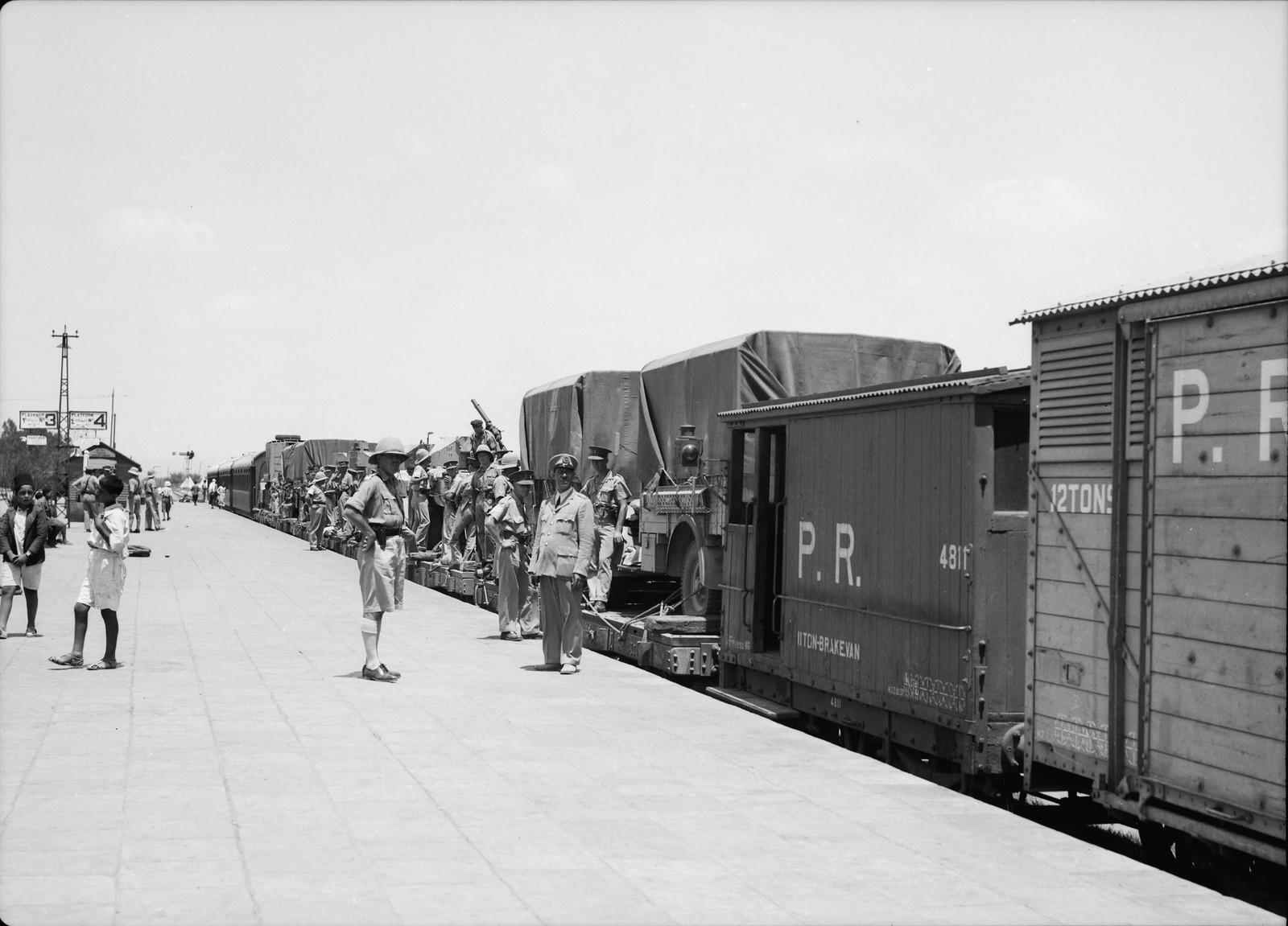 04. Британские войска прибыли в Лод, 15 июля
