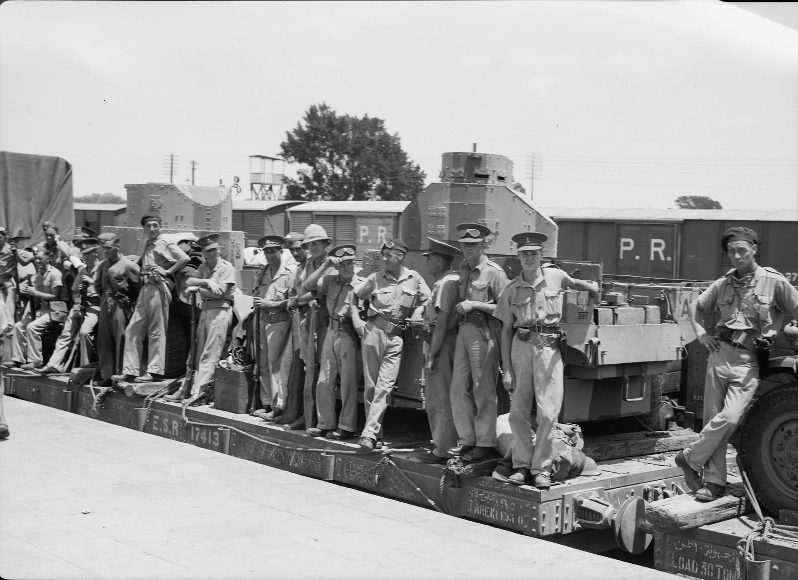 01. Британские войска прибыли в Лод, 15 июля