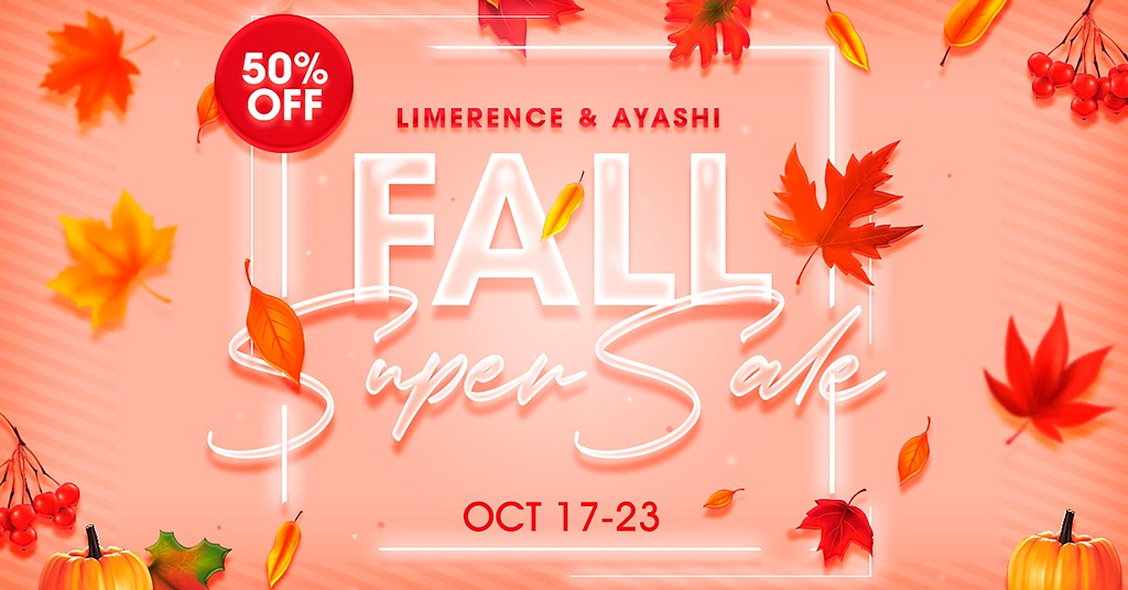 [^.^Ayashi^.^] and {Limerence} Fall Super Sale