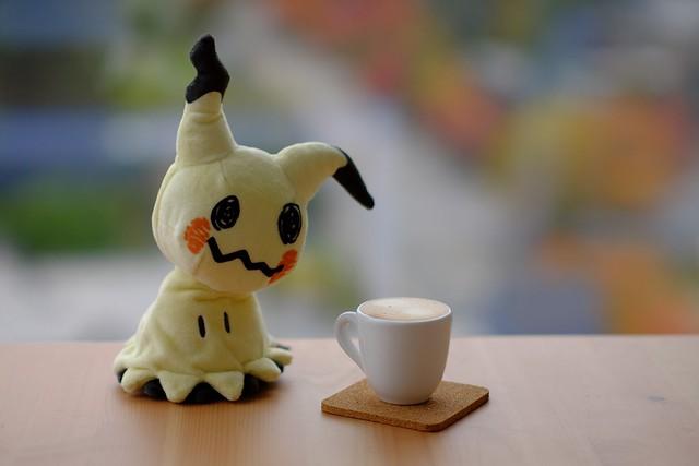 Autumn Espresso with Mimikyu
