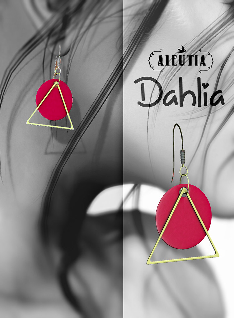 Dahlia Earrings at Saturday Sale!!
