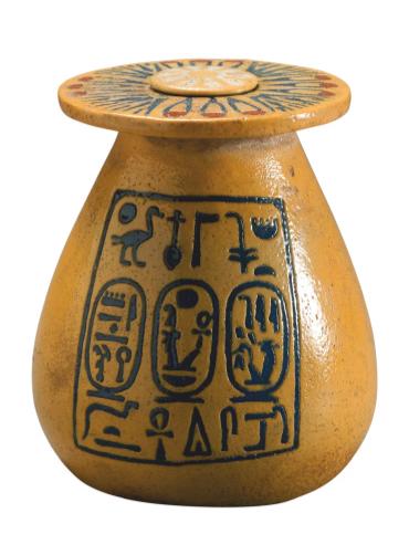 Кувшин с именами Аменхотепа III и Тийе