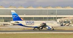 OY-RCI, Airbus A319-112, Atlantic Airways Islas Feroe.